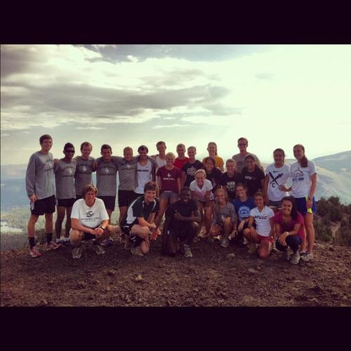 APU XC 2012 on top of Red Cone. (10,500 ft. altitude)